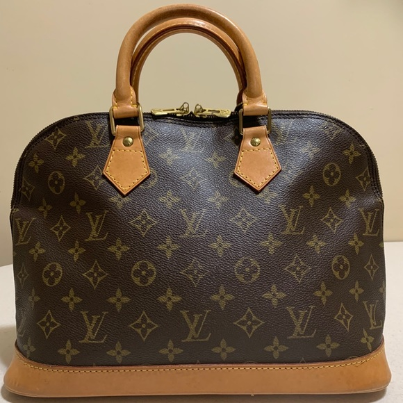 SOLD! Louis Vuitton Alma PM Monogram